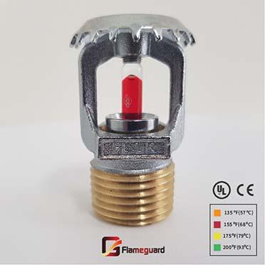 sprinkler upright fl100u