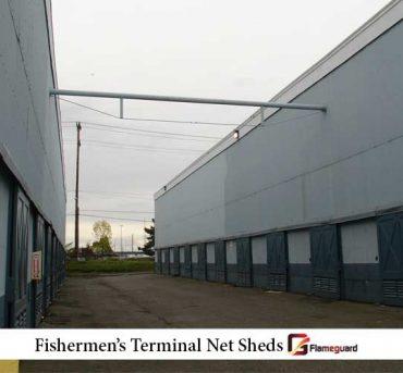 Fishermen's Terminal Net Sheds