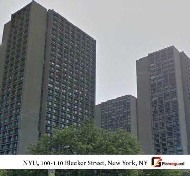 NYU, 100-110 Bleeker Street, New York,NY