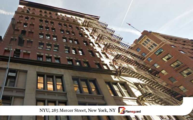 NYU, 285 Mercer Street, New York,NY