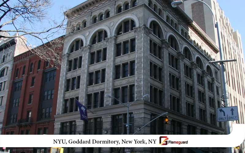NYU, Goddard Dormitory, New York, NY