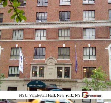 NYU, Rubin Hall Dormitory, New York, NY