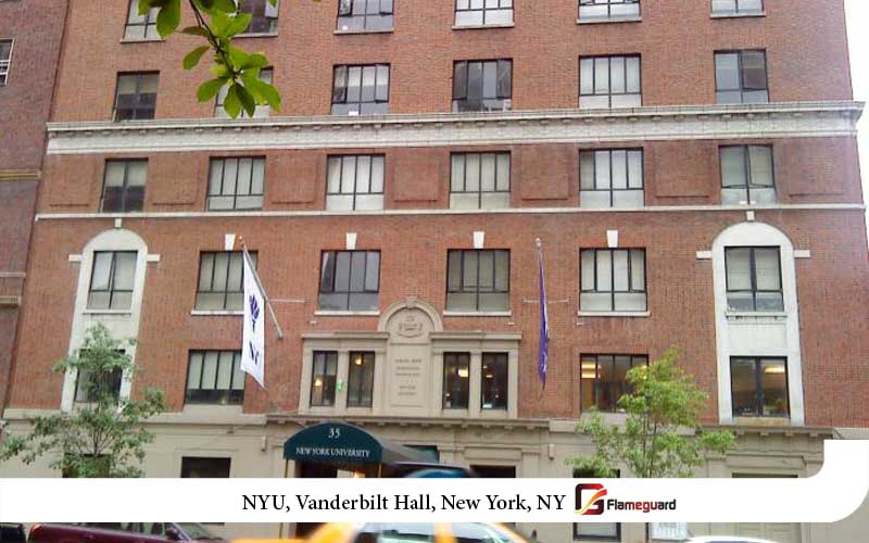 NYU, Rubin Hall Dormitory, New York, NY