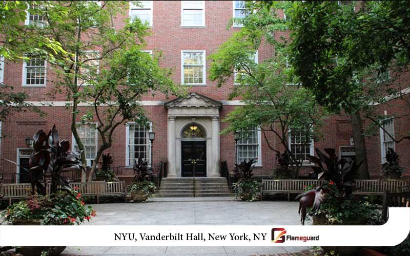 NYU, Vanderbilt Hall, New York, NY