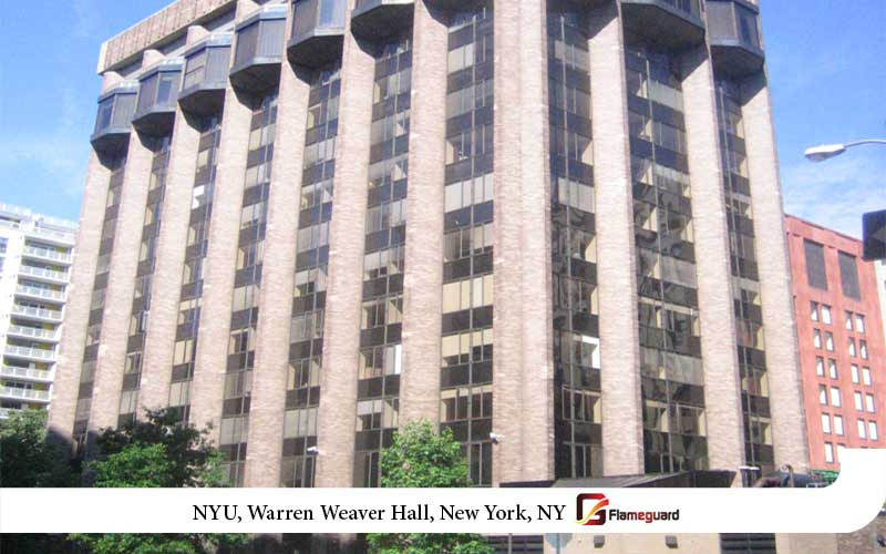 NYU, Warren Weaver Hall, New York, NY